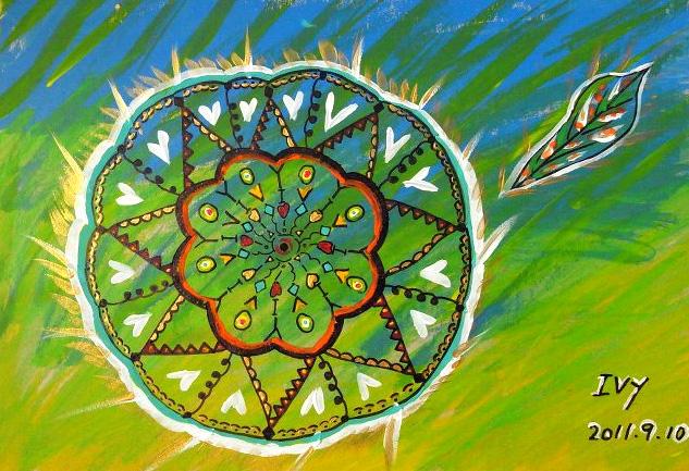 体验过『曼陀罗能量彩绘』的同学分享